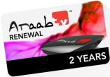 HobbySat ArabSat Renew araabTV IPTV Arabic Receivers foe 2 years