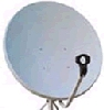 TV Satellite dish antenna S900W 90cm 39 inch Ku band offset