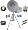 DISH 500 HD Camping Combo w/2' Tripod for Bell TV