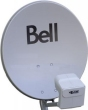 Oval Bell dish Dish 500 21 x 23 inches with DPP Quad lnb, up to 4 receivers