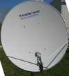 120 cm 1.2 metre 46.8 inches offset Ku Band Fortec Star FC120CM dish