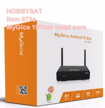 Box - MyGica ATV 1900 AC ATV1900AC Quad Octa 4K HD Android 5.0 TV Box