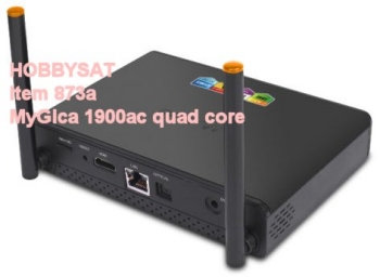 Back of MyGica ATV 1900 AC ATV1900AC Quad Octa 4K HD Android 5.0 TV Box