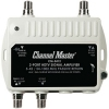 Channel Master CM-3412 2 ports TV antennas distribution amp