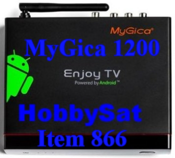 Top of Android Media TV Box - MyGica ATV1200 Dual Core