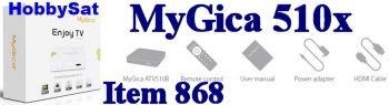 Banner - MyGica ATV510x Media Player Linux Only XBMC TV Box no WiFi