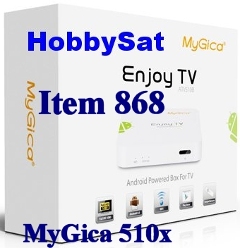 Box - MyGica ATV510x Media Player Linux Only XBMC TV Box no WiFi