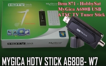 Box - MyGica HDTV USB Stick TV Tuner A680B Windows 7