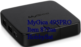 MyGica 495PRO media player side