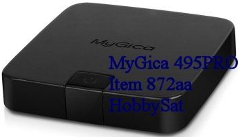 MyGica 495PRO media player top