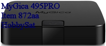 MyGica 495PRO media player front