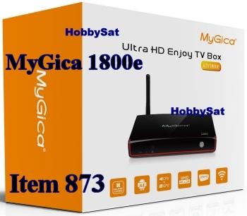 Box - MyGica ATV1800e media player Internet TV Android HD quadcore