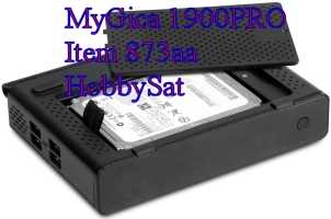 MyGica 1900PRO media player bottom