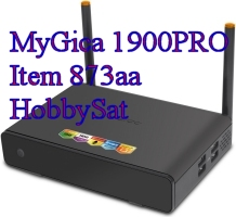 MyGica 1900PRO media player side