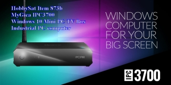 Banner - MyGica IPC3700 Windows 10 MiniPC TV Box Computer