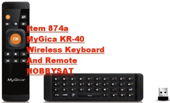 Contents - MyGica KR-40 Wireless Remote and Keyboard