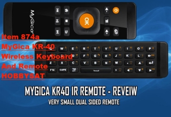 Dualsided - MyGica KR-40 Wireless Remote and Keyboard
