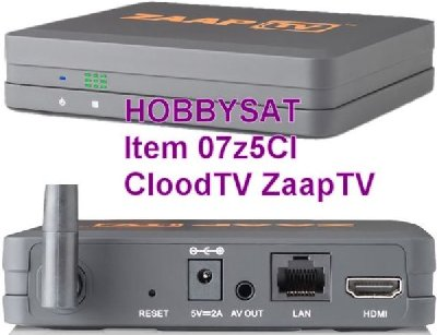 CloodTV 4U Arabic IPTV Media Box.