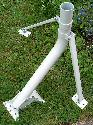 Tri-mast 28 inch foot and post kit