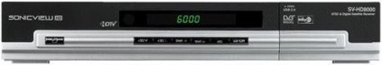 SonicView SV-8000HD FTA Receiver