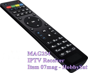 Remote for Mag254 IPTV SET TOP BOX receiver