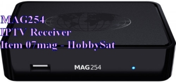 Front of Mag254 IPTV SET TOP BOX receiver
