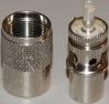 Amphenol UHF connector PL-259 CB ham marine radio RG8 58 59