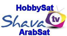 Shava TV HobbySat ArabSat.