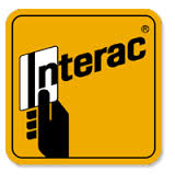 Pay by interac.